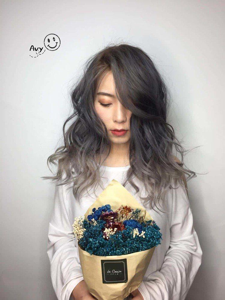 髮型創作/ Happyhair北屯店 - Avy 祐詩。圖/HairMap美髮...