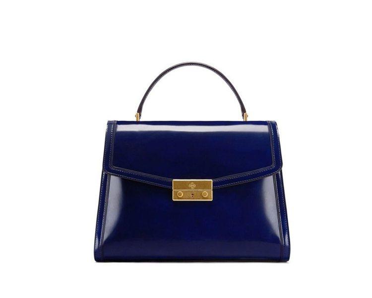 Juliette藍色手提包,25,900元。圖/Tory Burch提供