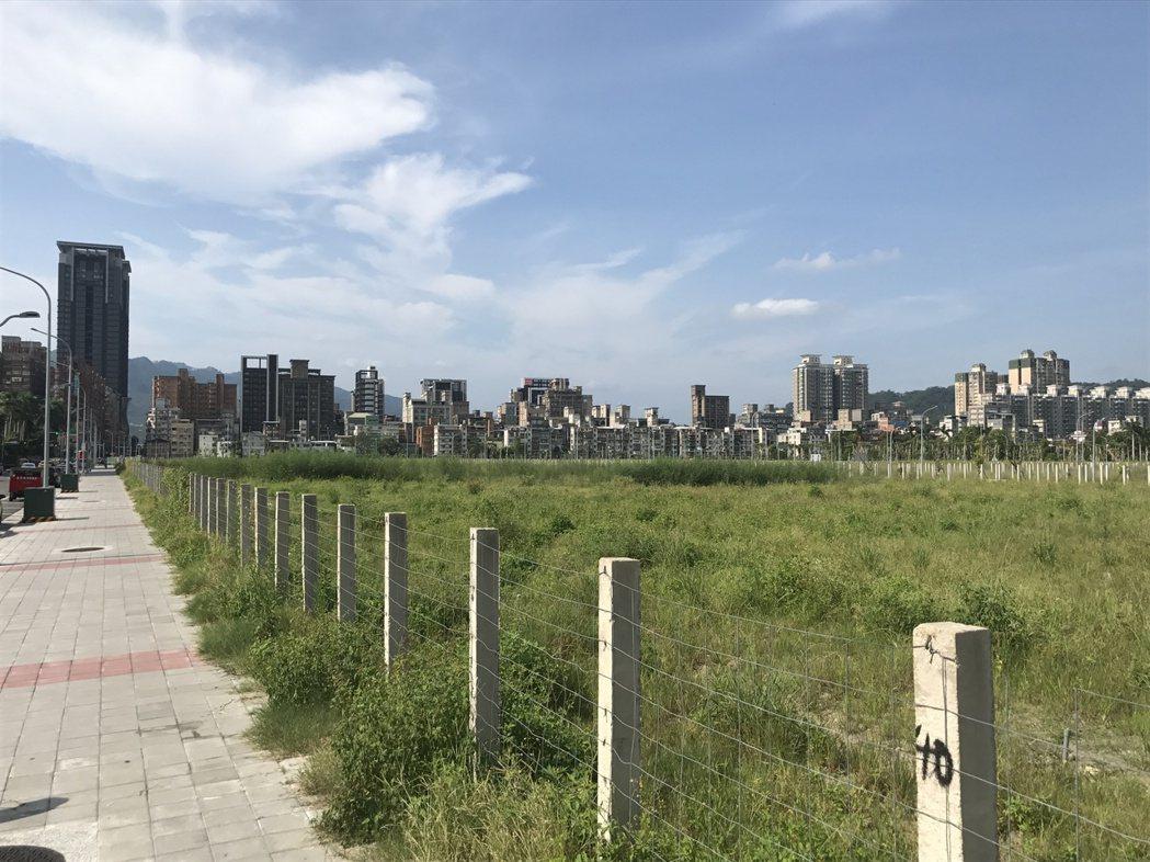 央北重劃區。 記者游智文/攝影