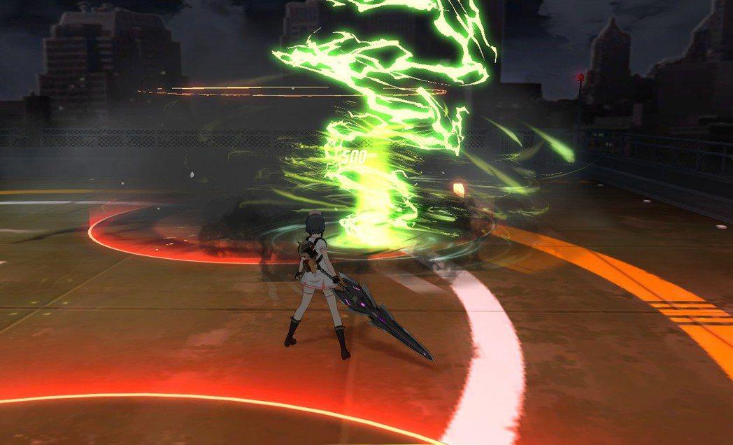 ★「毒魔」最後會使出「毒龍捲」,玩家要盡速閃避以免被捲入造成不可挽回的傷害。