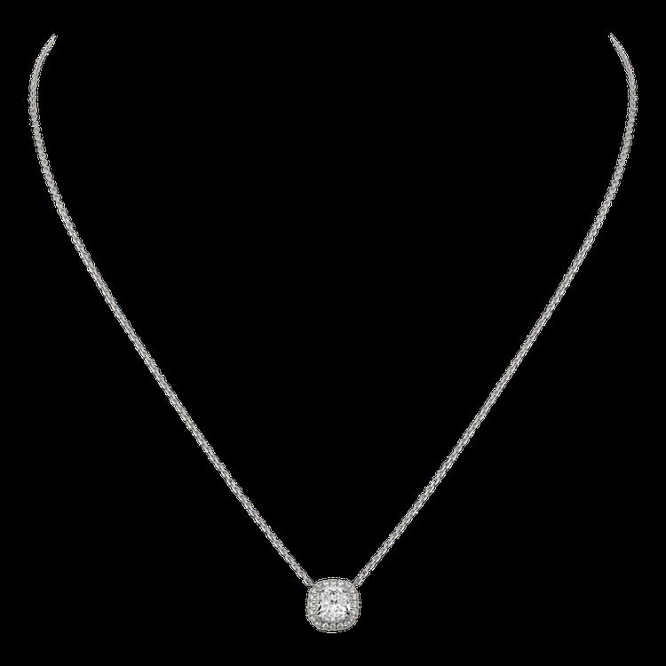 卡地亞Destinée枕形切割系列單鑽項鍊約1.00克拉參考價格 NT$ 426...