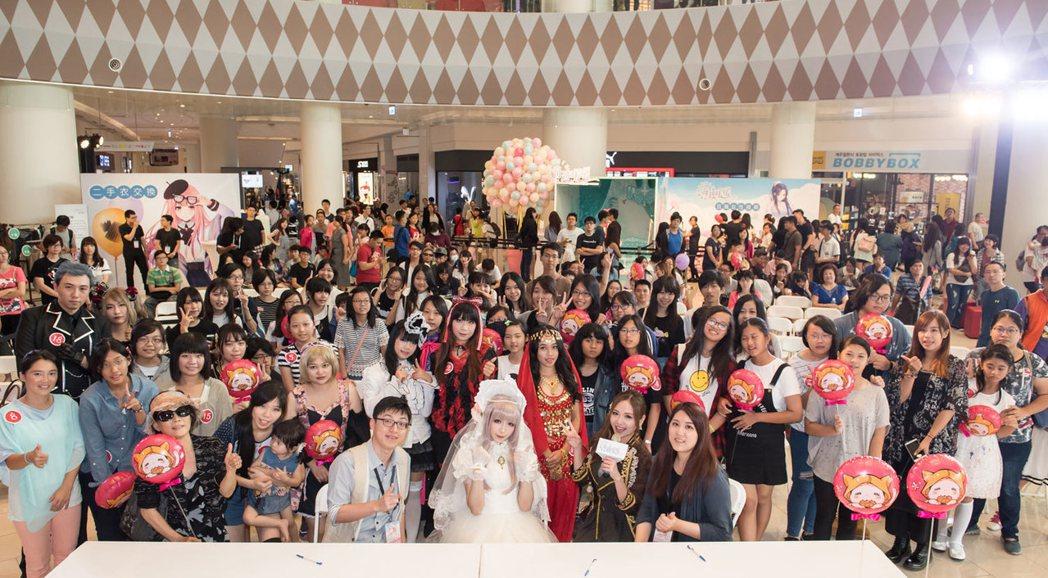 高雄場週年盛典於23日熱鬧落幕。