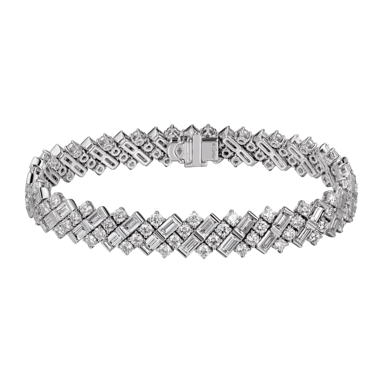 Reflection de Cartier系列鑽石手鍊參考價格約NT$ 4,48...