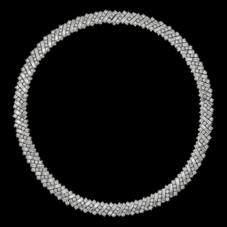 Reflection de Cartier系列鑽石項鍊參考價格店洽。圖/卡地亞提...