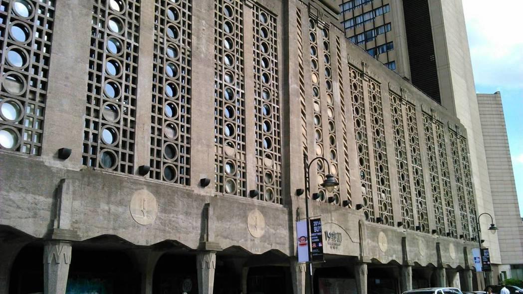 屠宰場改建的「1933老場坊」。 攝影/洪瑞薇