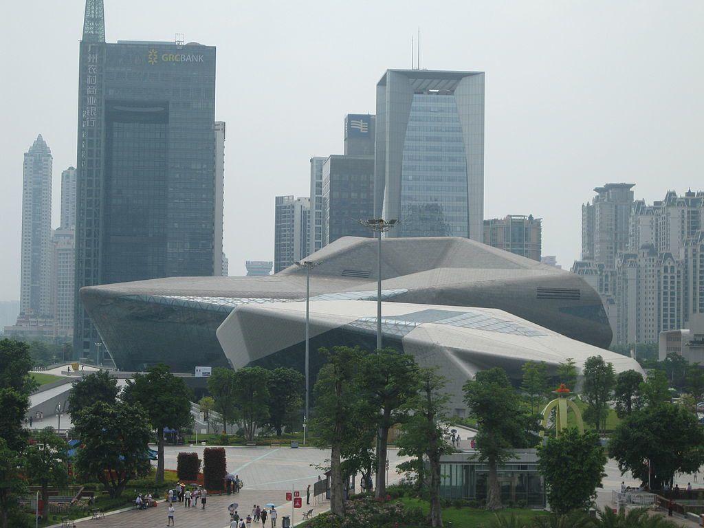 廣州大劇院。 圖片來源/維基百科