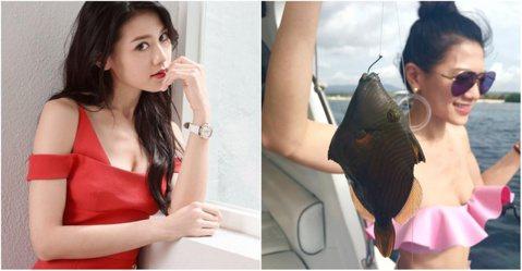 有「香港波神」美名的周秀娜,今年以電影「29+1」演技大受肯定,有望入圍各演技獎項,少有性感打扮的她,最近趁著空檔到峇里島度假,並有好幾張釣魚的照片,有眼尖網友發現她的「胸器」不再,被認為是她瘦過頭...