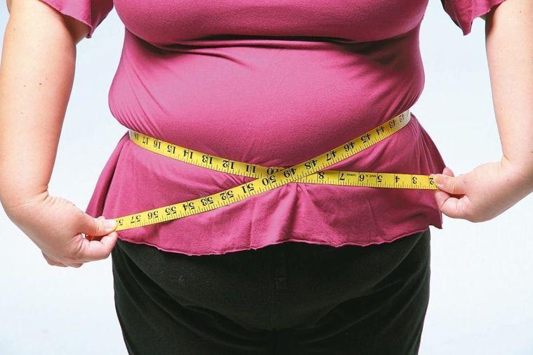 示意圖。有糖尿病史的45歲陳姓婦人,39歲就停經,且手掌、腳掌逐漸變大,4年內胖...