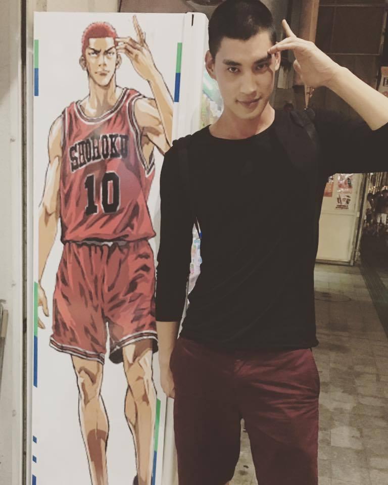 宏正在「High 5制霸青春」飾演籃球隊長。圖/摘自宏正臉書