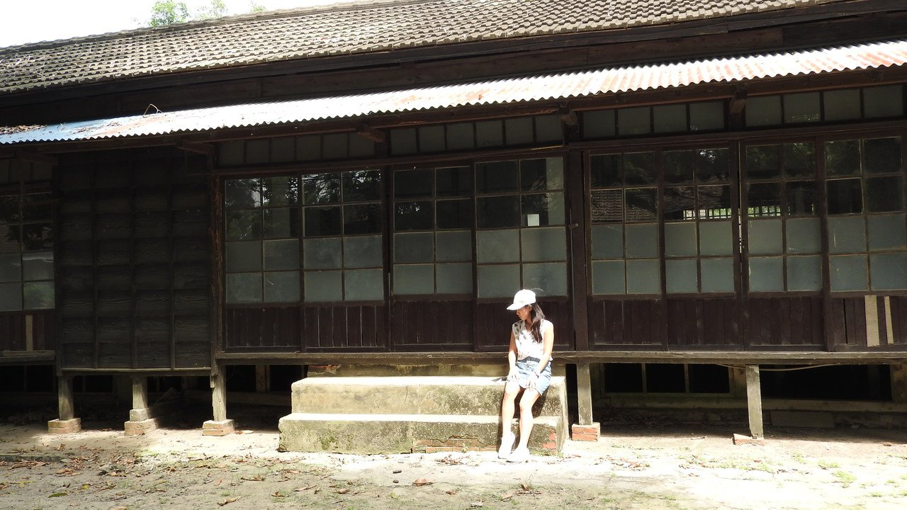 老舊的日式員工宿舍別有風情,相當適合拍照打卡。記者魏妤庭/攝影
