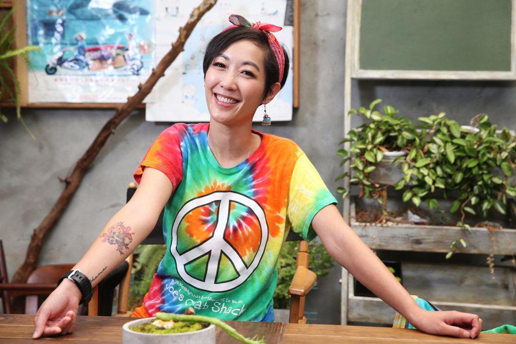 Gigi林如綺專訪。記者徐兆玄/攝影