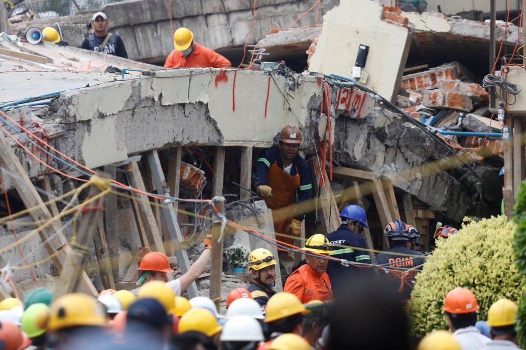 墨西哥強震 保安宮捐助10萬美元助重建