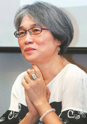 簡媜。 圖/本報記者林俊良攝影