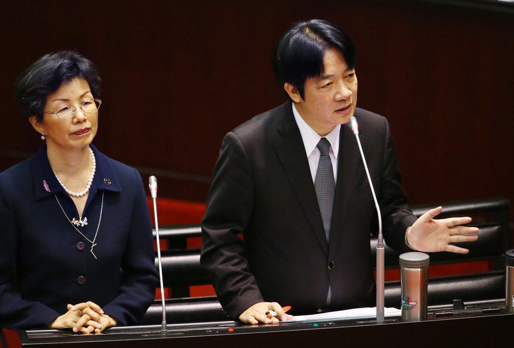 賴清德:我是主張台灣獨立的政治工作者