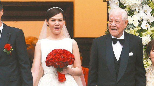前總統李登輝孫女李坤儀,嫁作人妻後事業做得有聲有色。報系資料照