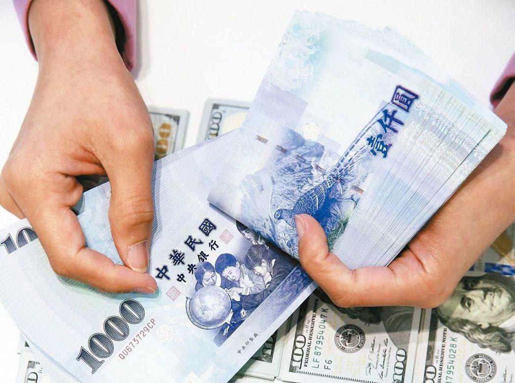 新台幣早盤走貶 兌美元最高30.180元
