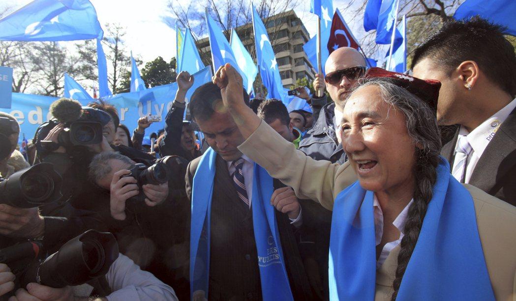 二十世紀初維吾爾族民族運動開始勃興,圖為新疆維吾爾獨立運動領袖熱比婭(Rebiy...