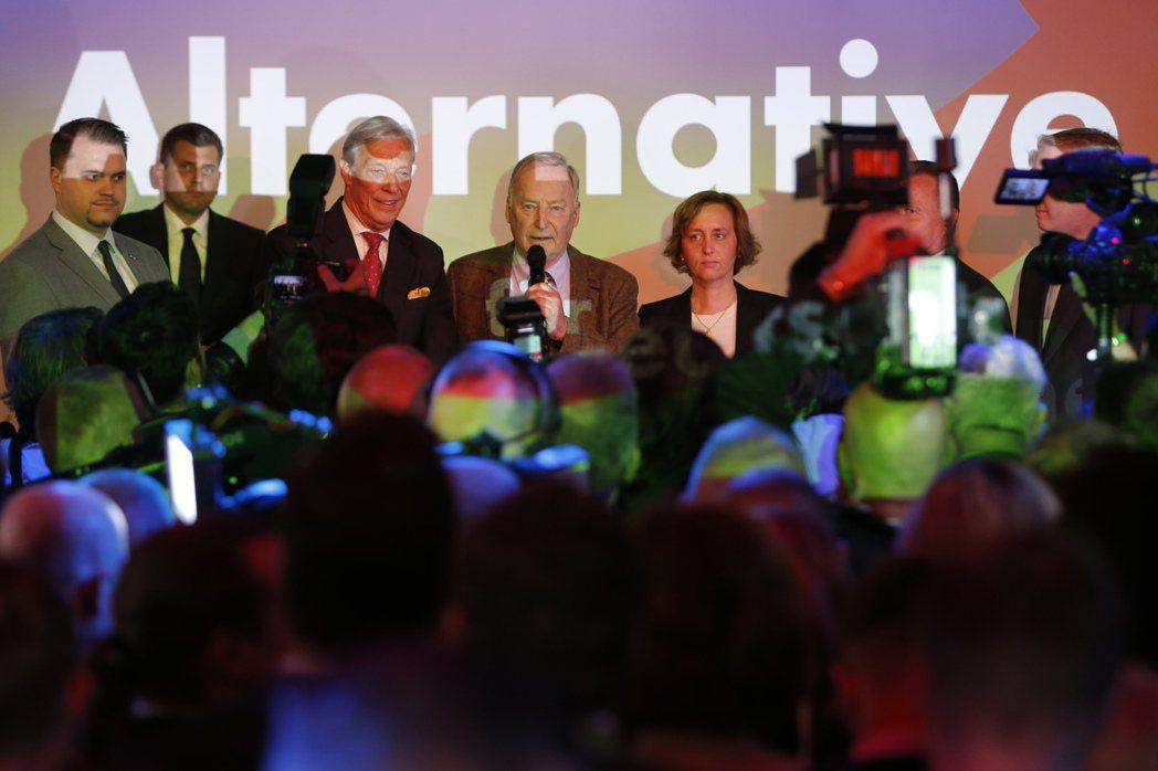 勝選之夜:拿下國會第三大黨的AfD,會對德國政治版圖產生影響嗎? 圖/美聯社