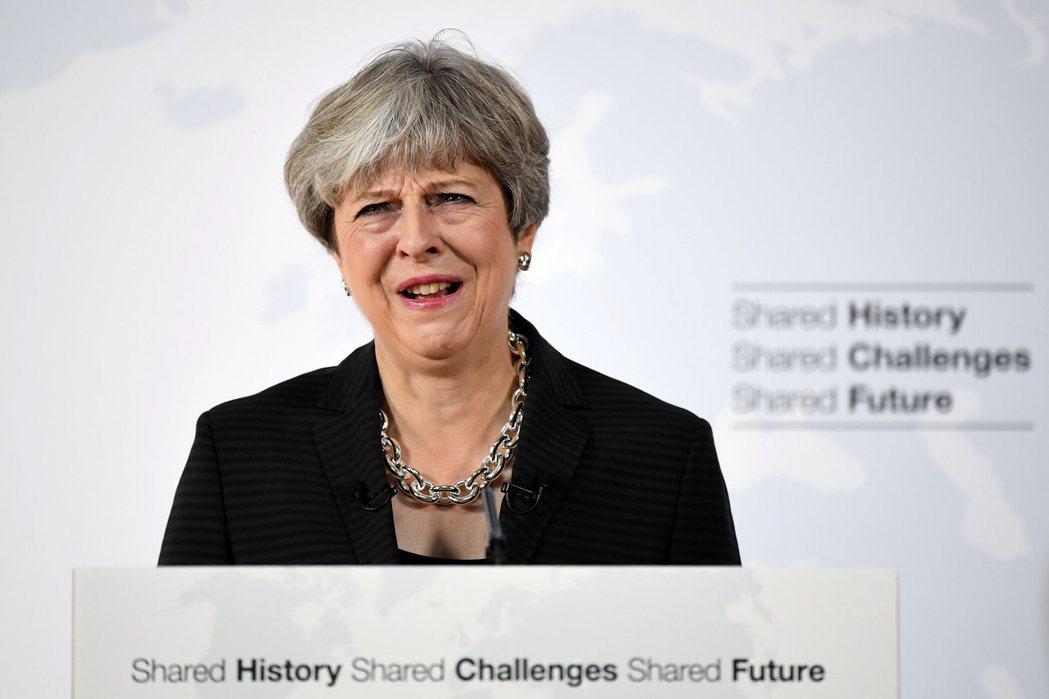英國首相梅伊:安啦! 圖/路透社