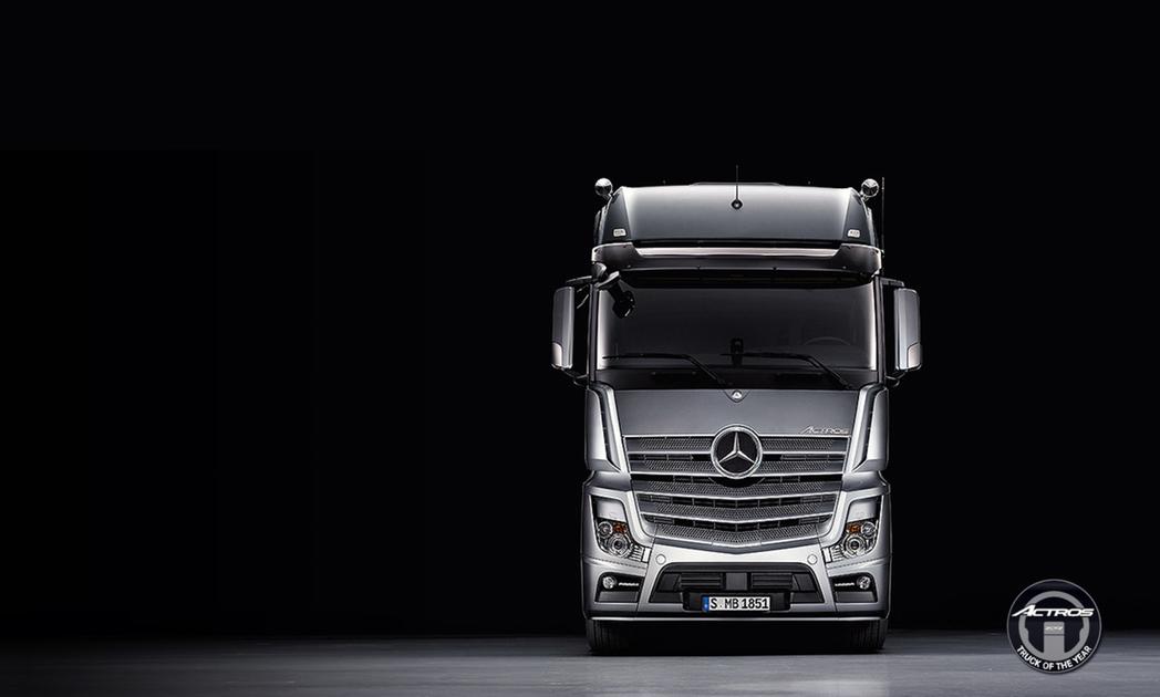 新一代Mercedes-Benz 商用重車主力車款Actros,榮獲2012年度...