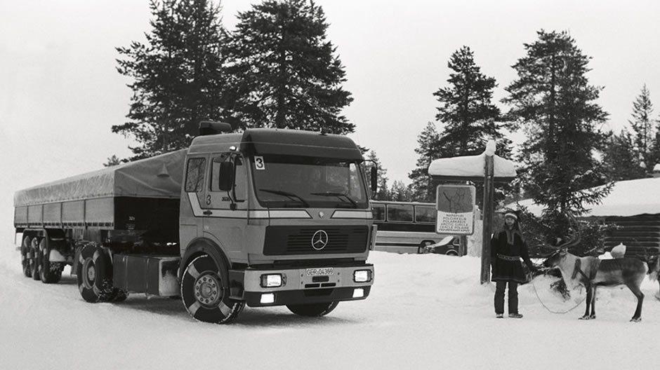 Daimler首開先例,於1981年將煞車防鎖死系统(ABS)應用於重車上,開啟...