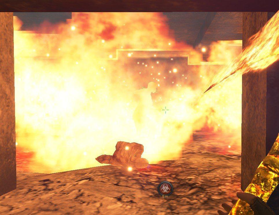 本次更新增加了噴射火焰裝置及可開關的鐵門等機關,具備強大殺傷力。