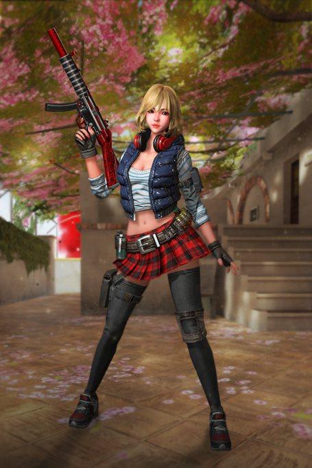改版重點之一,新增了戰場上有史以來最甜美可人的全新角色「蕾依寶貝」。