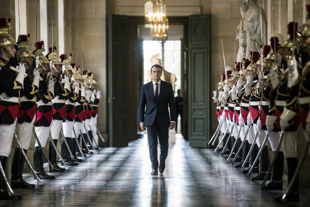 「自詡為自由世界的領導人」 圖/美聯社