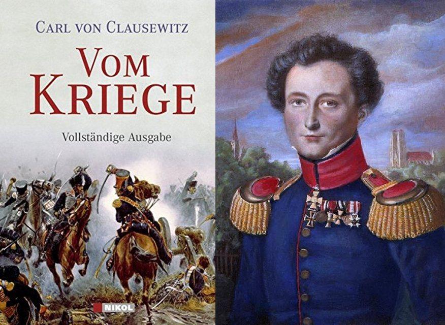 魯士戰略思想家克勞塞維茨(Carl von Clausewitz)與其傳世巨著《...