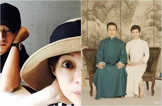 鄧超第一時間向愛妻獻上生日祝福。圖/摘自微博
