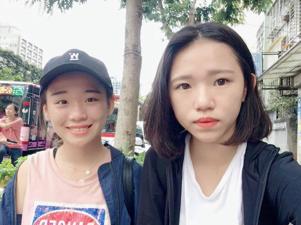 Plastic Music(塑膠音樂)是來自台中青年高中音樂科的雙人團體。圖/環...
