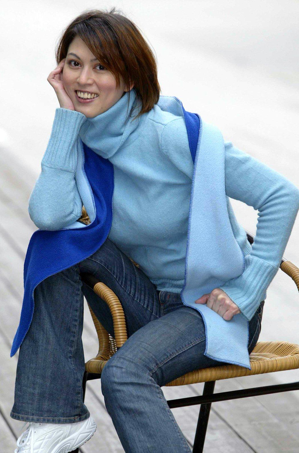 任潔玲多年前轉戰購物專家展開事業第二春,圖為2005年照。陳俊吉攝影 圖/聯合報...