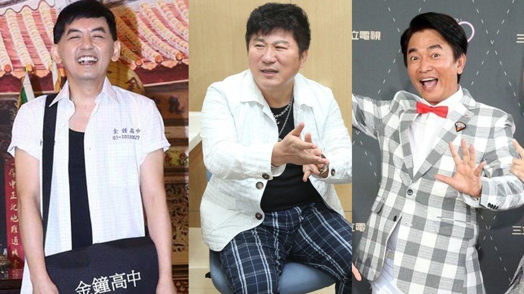 第52屆金鐘獎本周六揭曉,綜藝節目主持人獎5組人馬競爭激烈。 圖/截自臉書、報系