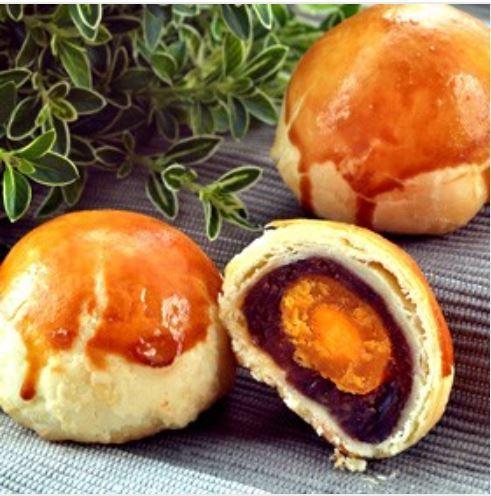 采棠肴蛋黃酥被檢出含有致癌染劑。圖擷自采棠肴官網