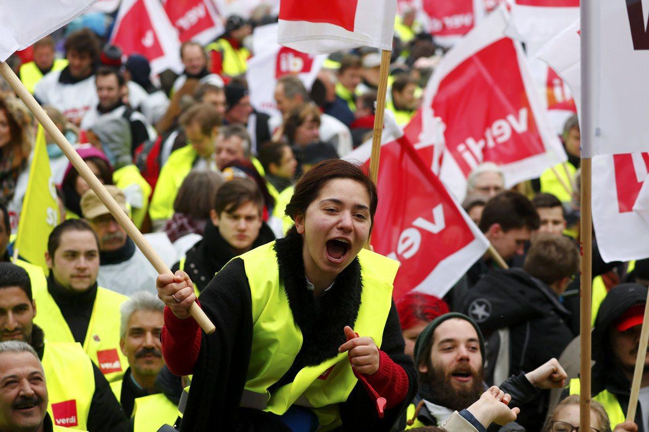 德國近年來相對保護境內的勞工。 圖/路透社