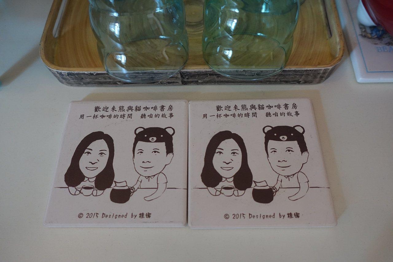 後來發現兩人入鏡的表情,被活靈活現的設計成文創商品。 攝影/葉玉琴