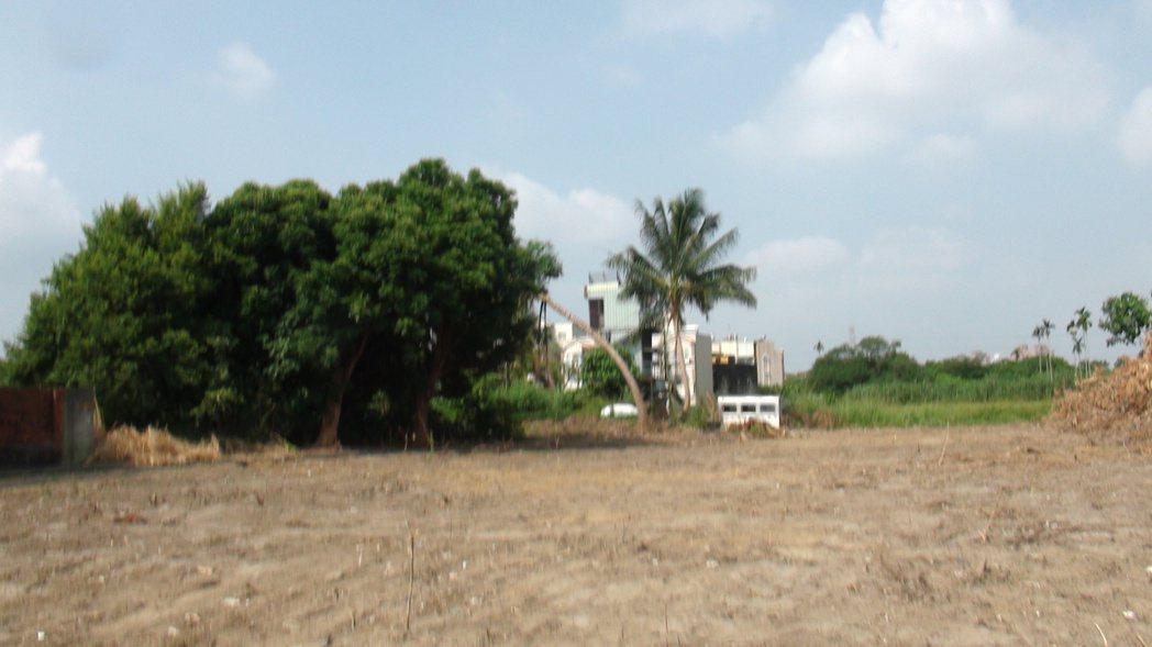 和睦自辦市地重劃開發區的面積約11.5公頃。記者謝恩得/攝影