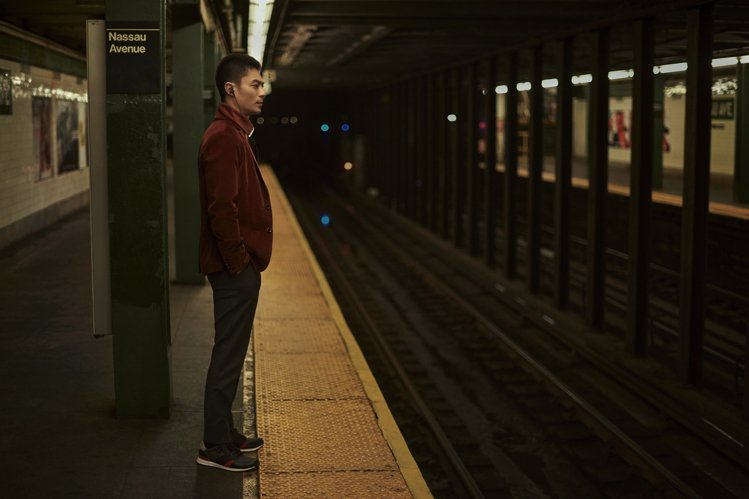 男星霍建華今年7月前往紐約為Hugo Boss拍攝最新形象廣告。圖/Hugo B...