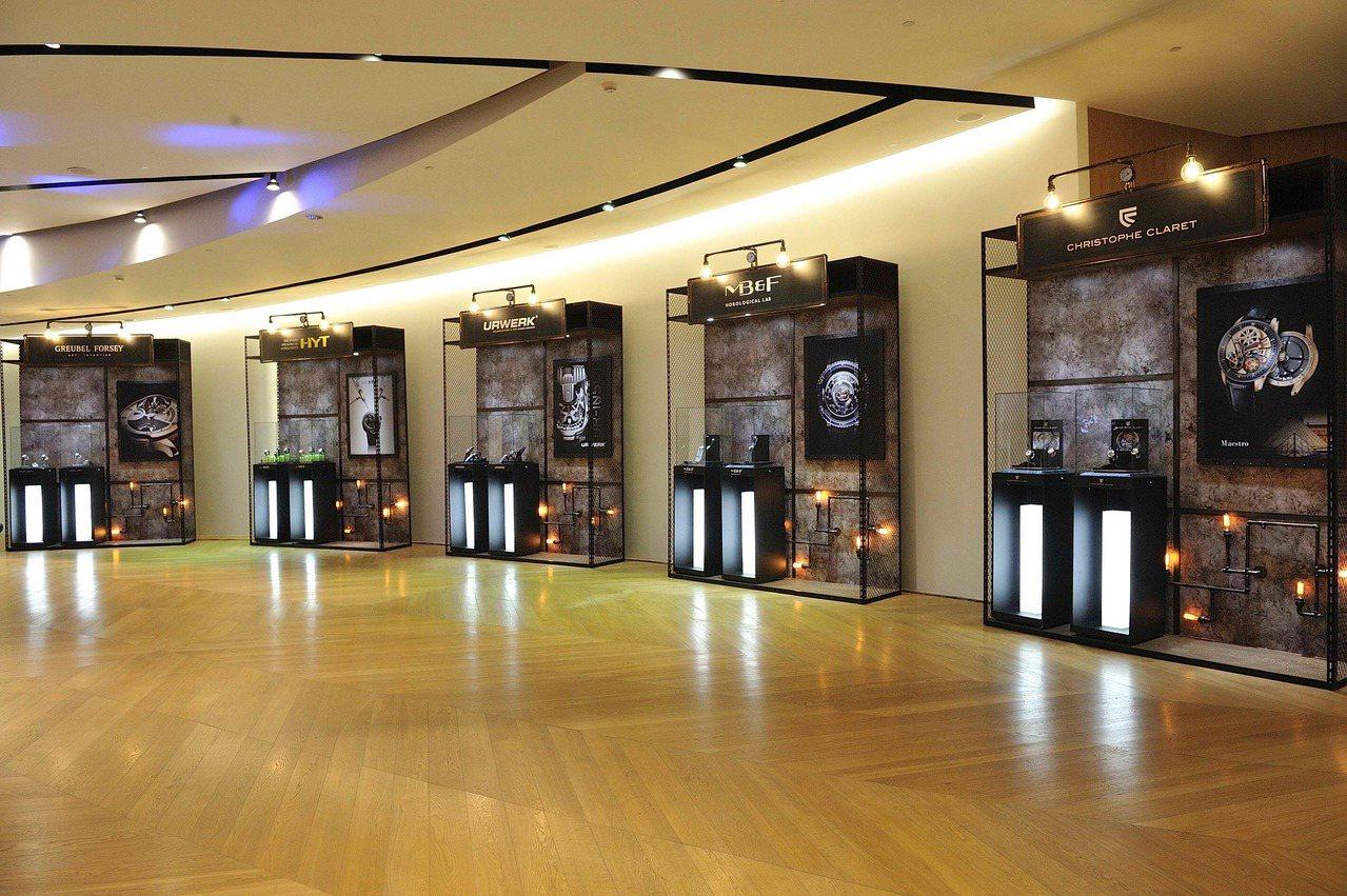 第5屆「匠心.獨具」時間藝術展,即日起於Bellavita地下一樓藝廊空間展出。...