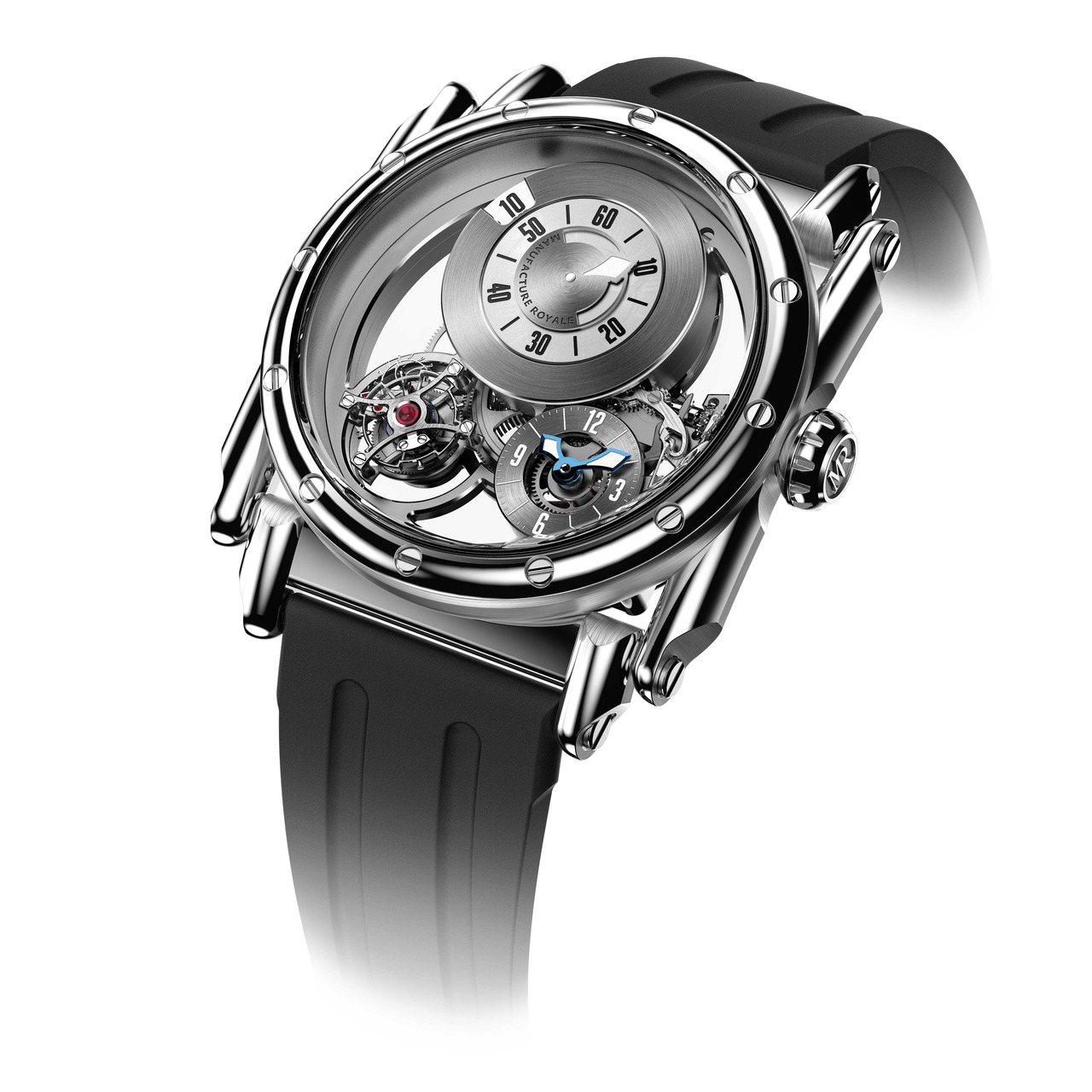 Manufacture Royale ADN腕表,跳時和連續分鐘顯示,獨立第二時...