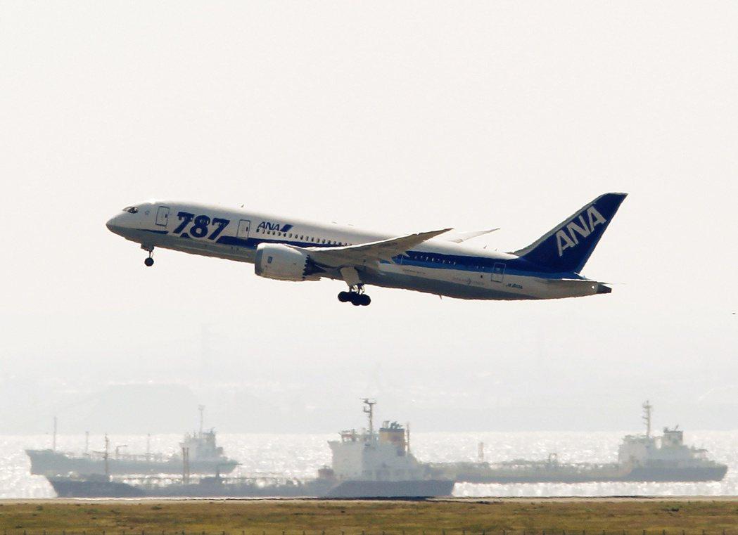 亞洲航空燃料單月飆漲10%。(圖/路透)