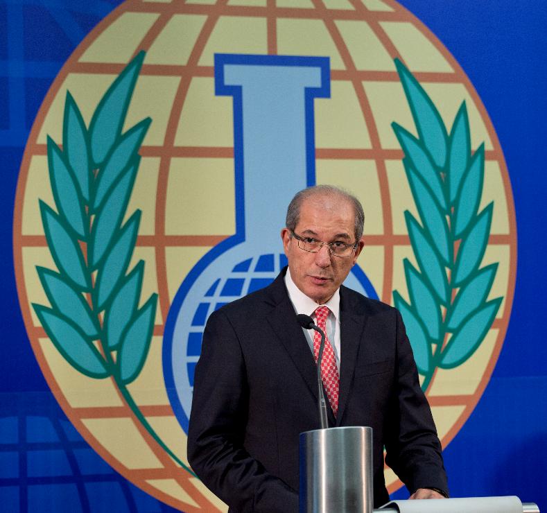 禁止化學武器組織秘書長尤祖姆居。美聯社