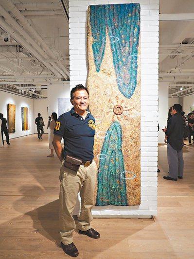 台灣藝術家曾英棟。 圖/大新美術館提供