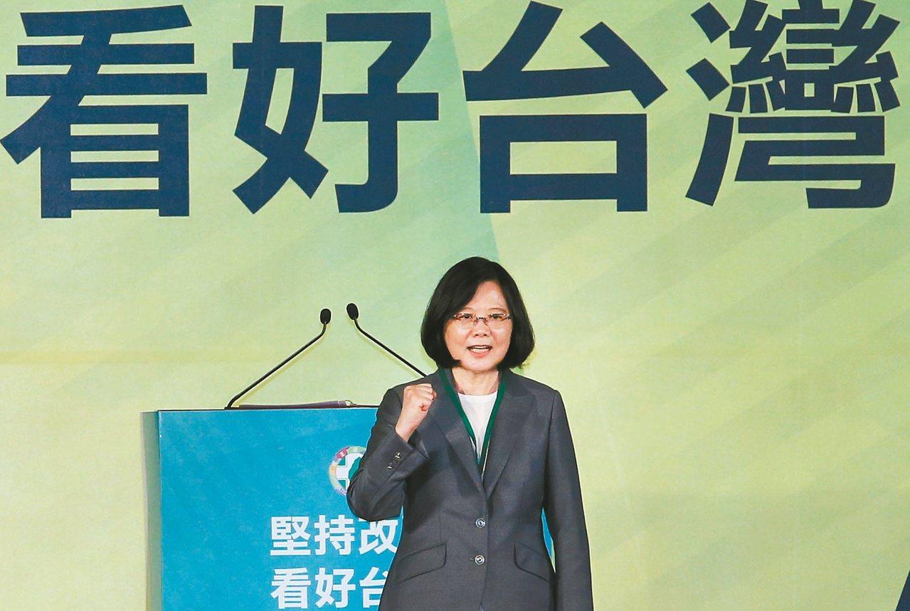 今天民進黨31周年黨慶。 聯合報系資料照/記者陳柏亨攝影