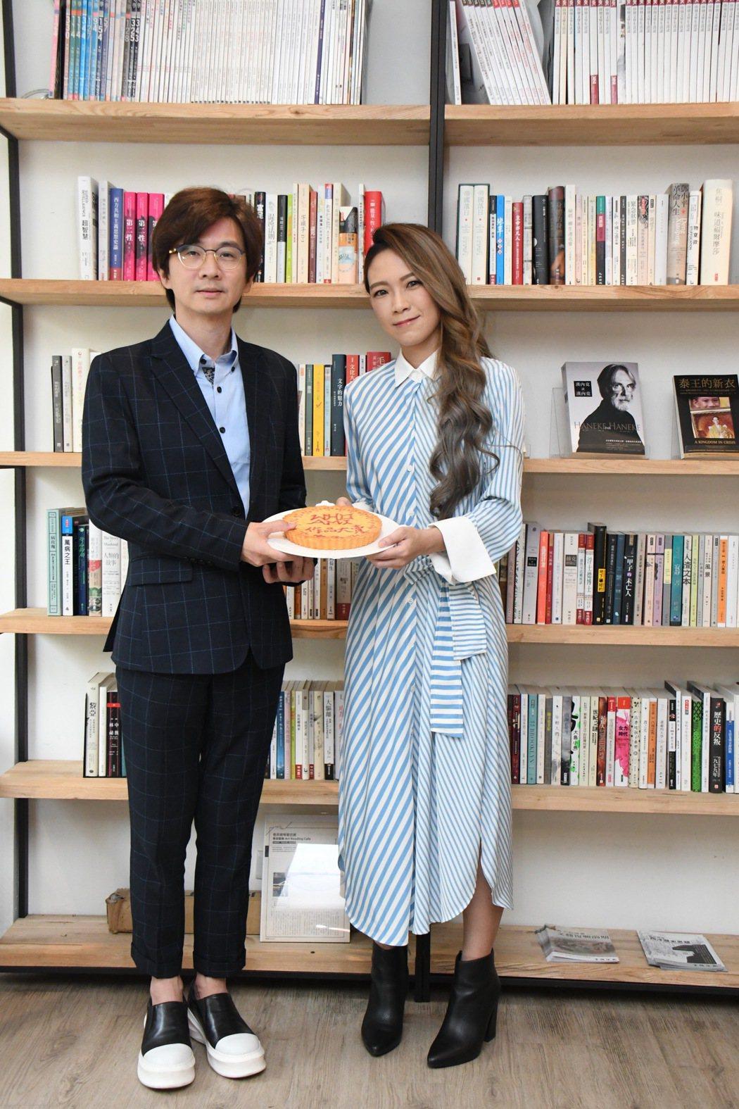 林隆璇28日舉辦媒體餐敘。圖/青田音樂文化提供