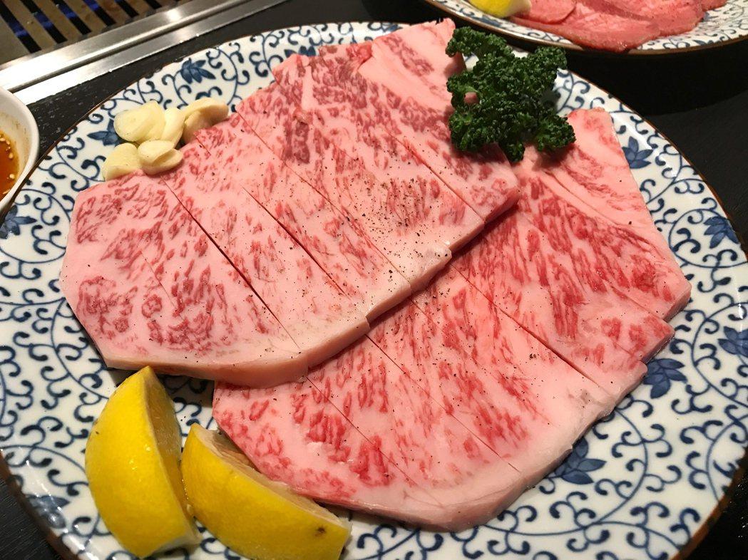 日本和牛。聯合報系資料照/記者陳易辰攝影