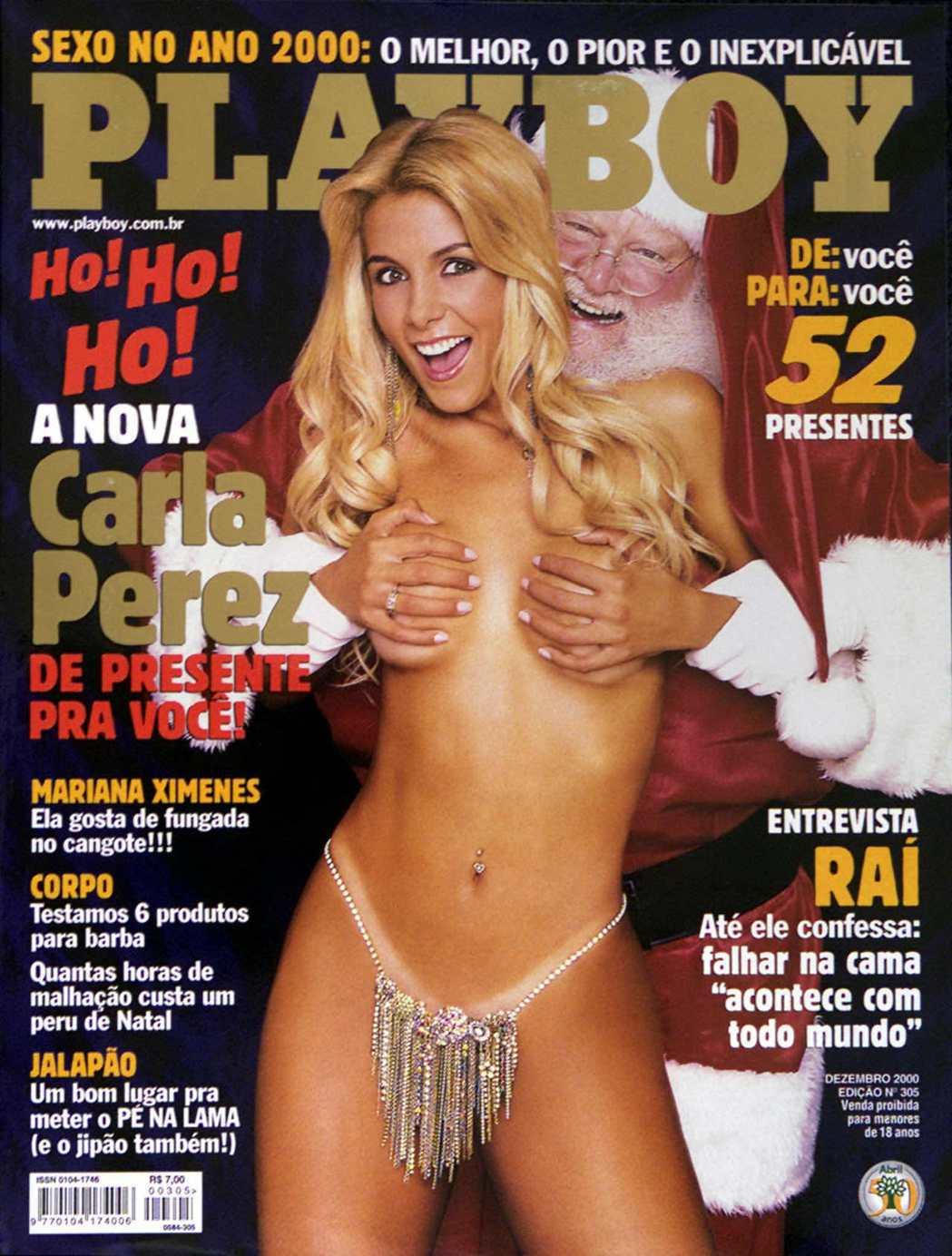 花花公子2000年12月號封面女郎、舞者卡拉佩雷斯。 (路透)