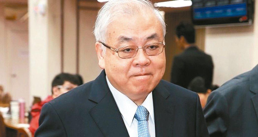 主計總處主計長朱澤民表示。聯合報系資料照