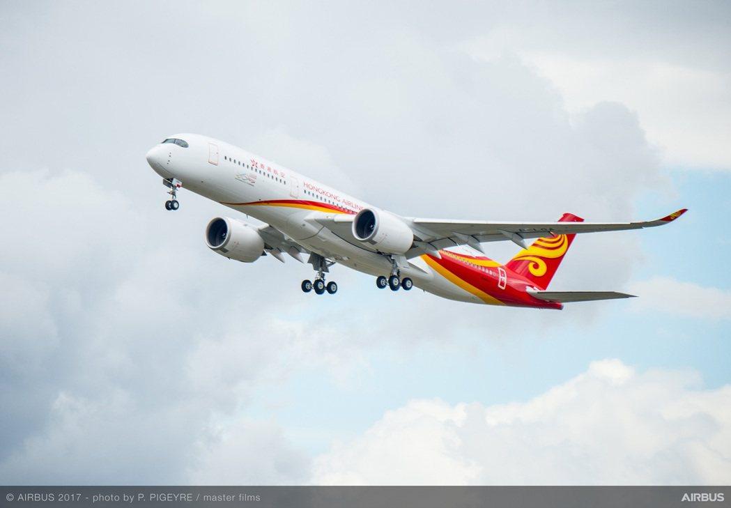 香港航空一名女空服員涉走私黃金,於東京被捕。圖/香港航空提供