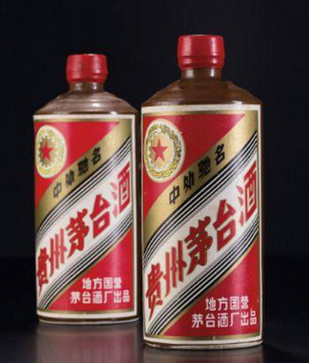 1985年黑醬茅台酒,曾拍出135萬元的高價。圖/截自優昌藝術網
